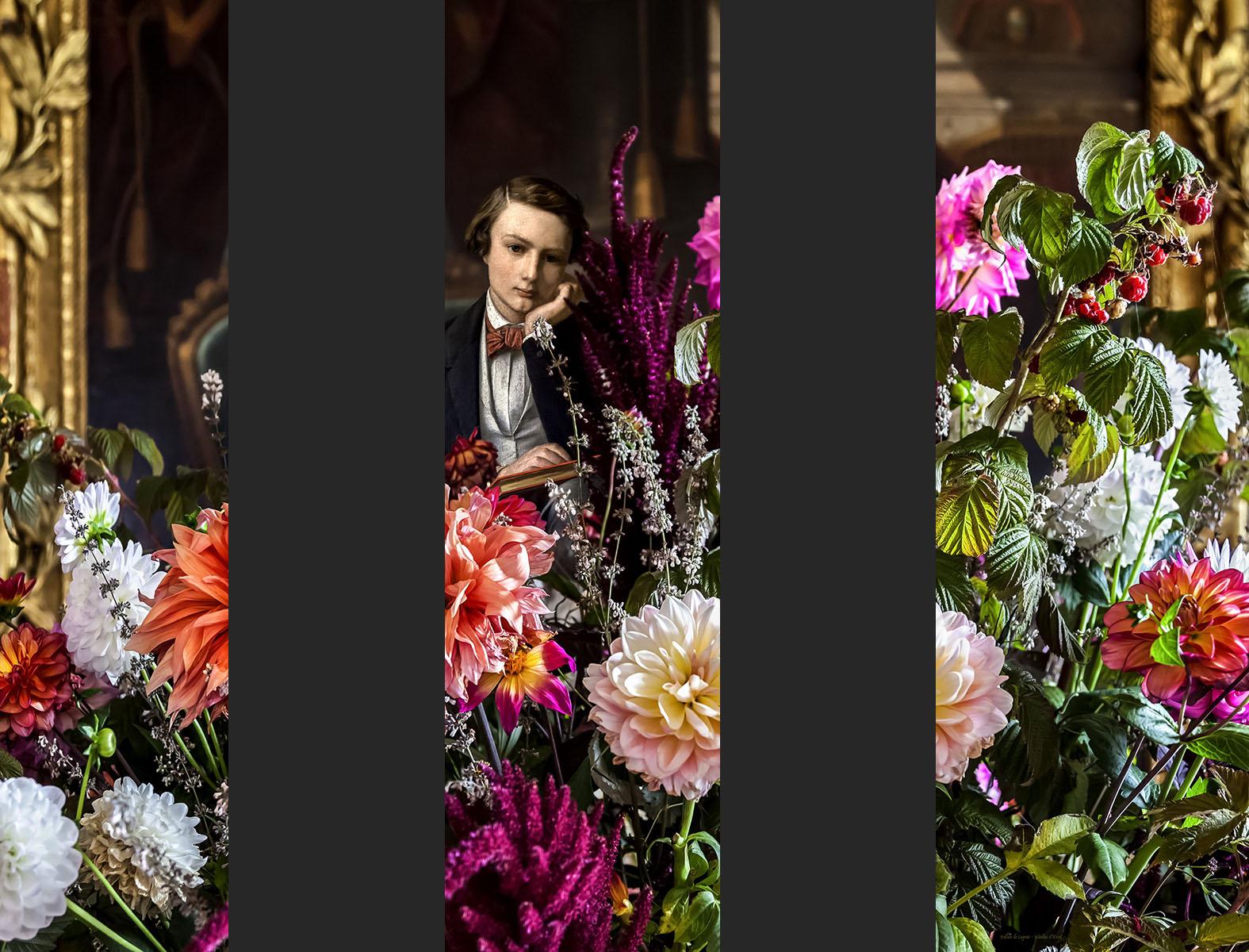 Nicolas d'Ursel et Fabien de Cugnac -Hôtel Alfred Sommier, Paris - Projet pour 3 bâches