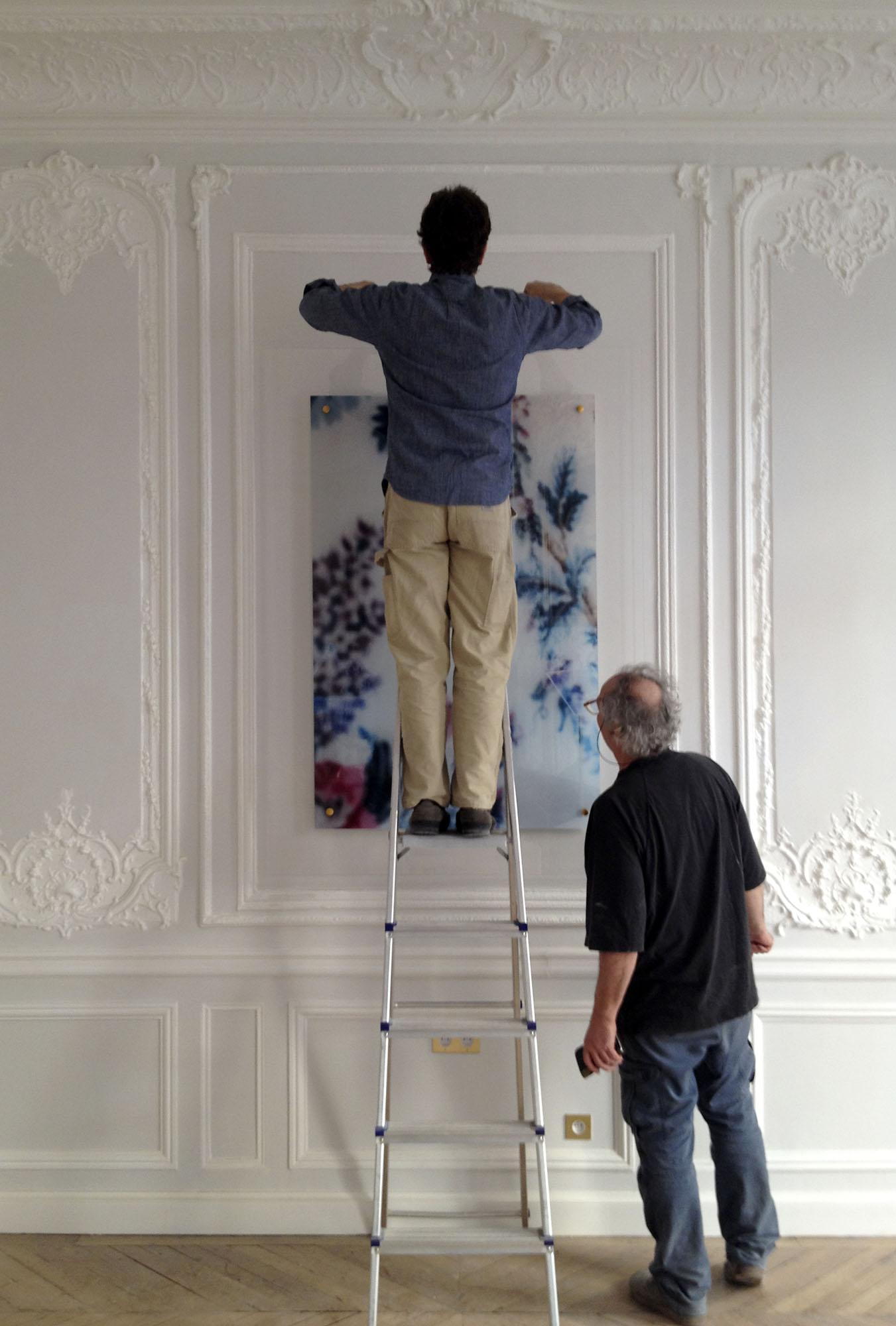 Nicolas d'Ursel et Fabien de Cugnac - Matthieu Olyff - Hôtel Alfred Sommier, Paris