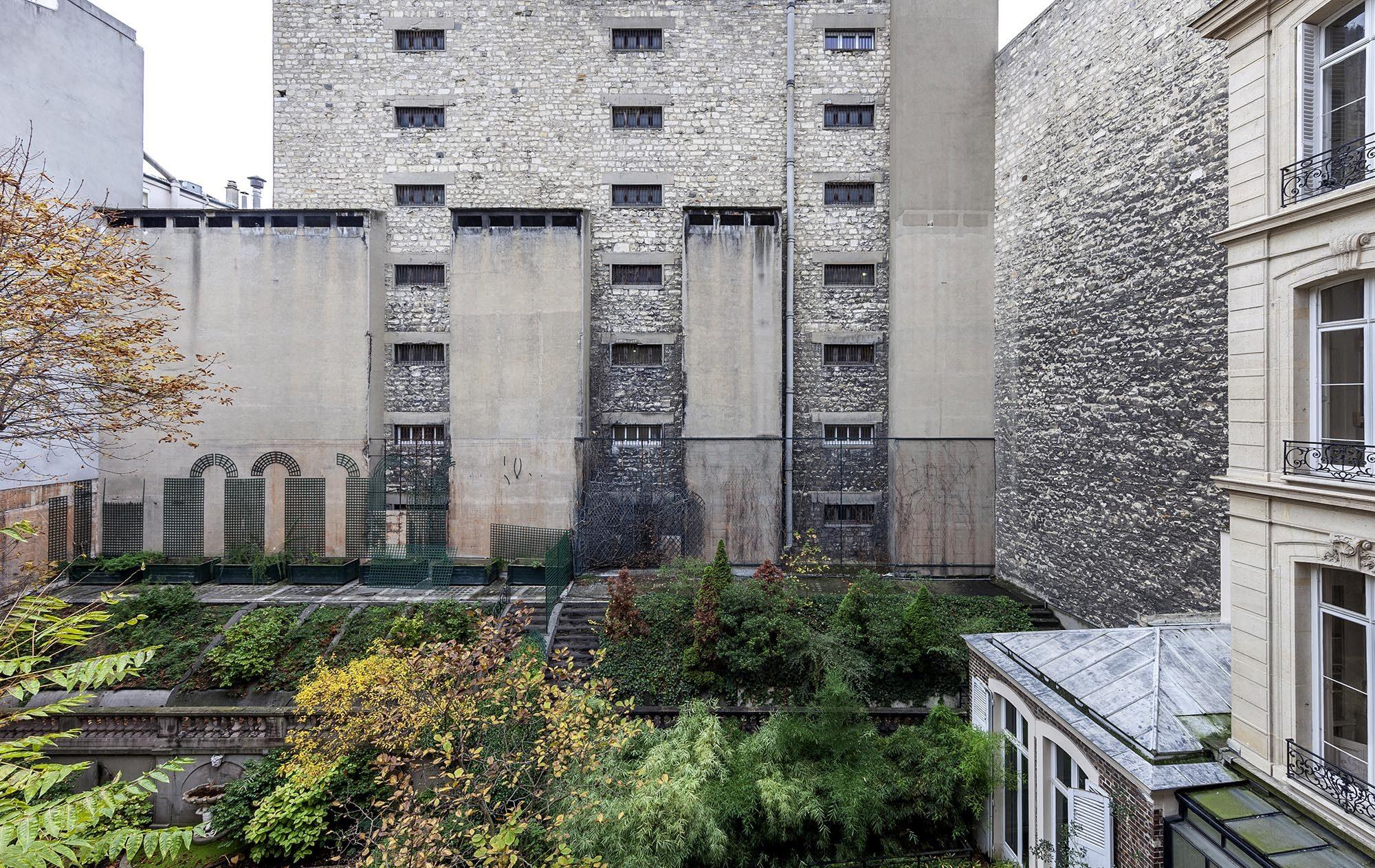 Nicolas d'Ursel et Fabien de Cugnac -Hôtel Alfred Sommier, Paris - Vue du jardin avant travaux