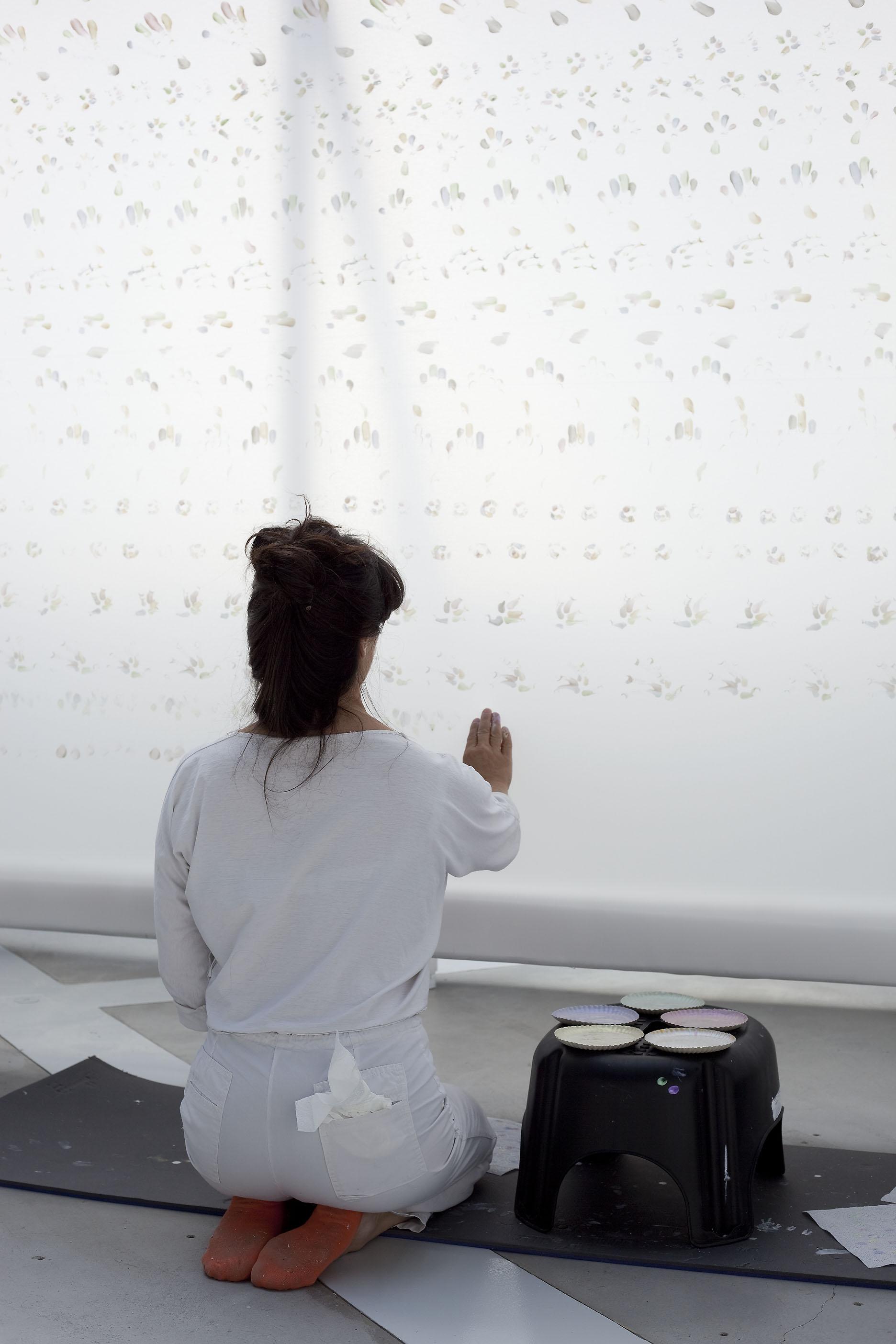 Exposition Aïda Kazarian, La Verrière, Fondation d'entreprise Hermès, 2009