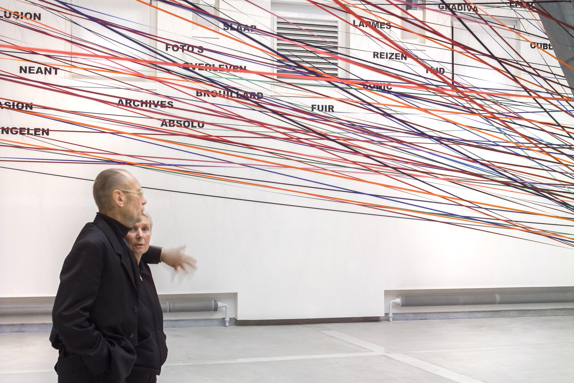 Exposition Anne et Patrick Poirier, La Verrière, Fondation d'entreprise Hermès, 2004