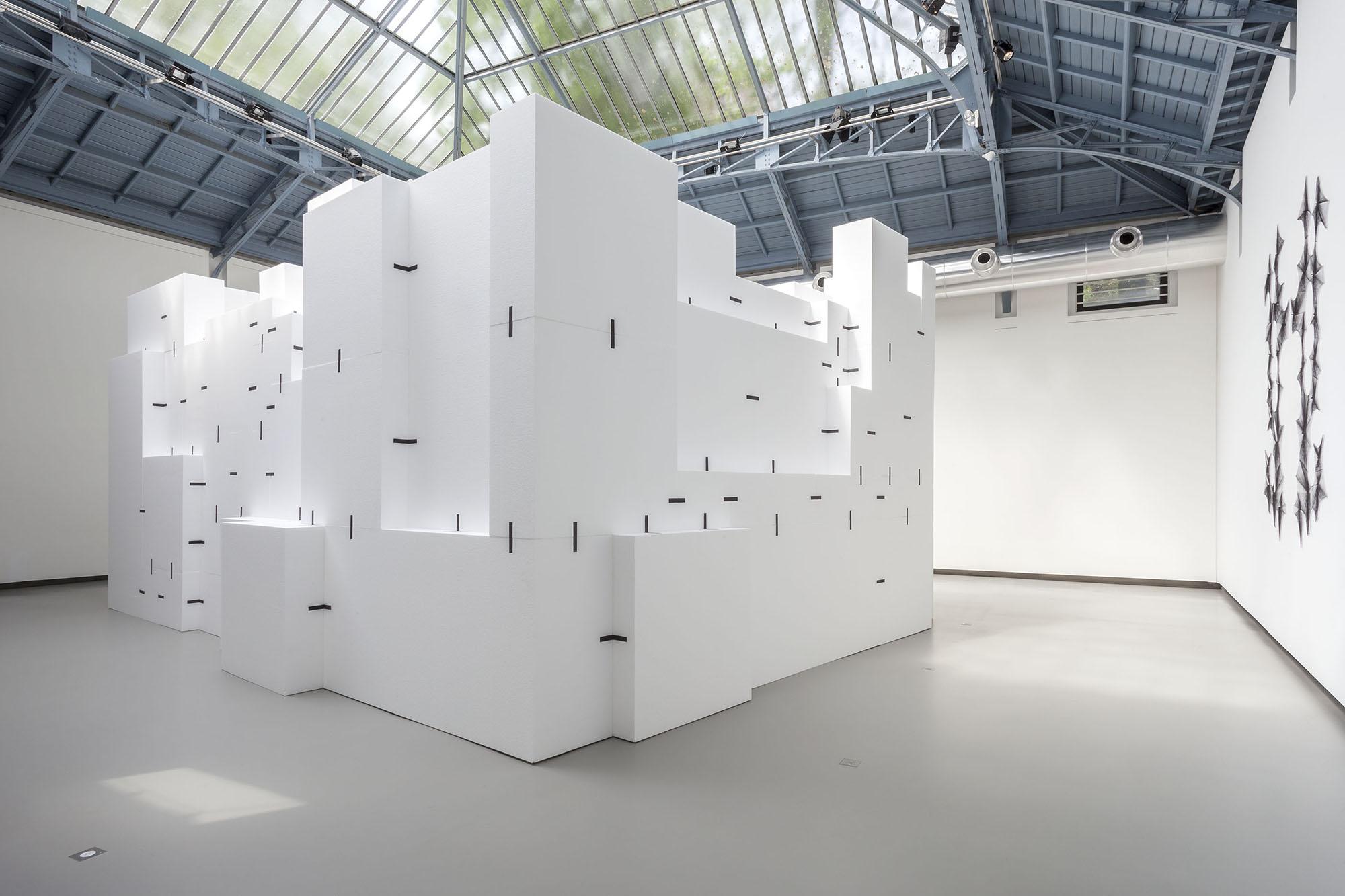 Exposition Hubert Duprat, La Verrière, Fondation d'entreprise Hermès, 2014
