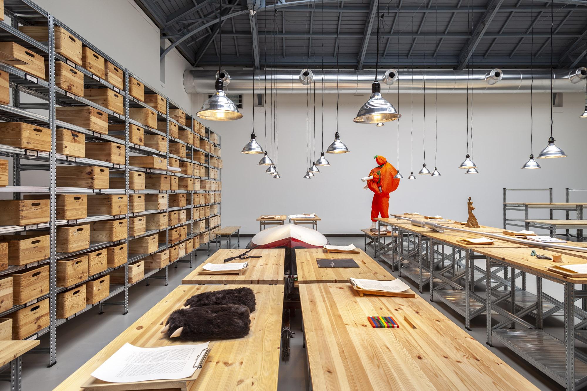Exposition Agence (Kobe Matthys), La Verrière, Fondation d'entreprise Hermès, 2014
