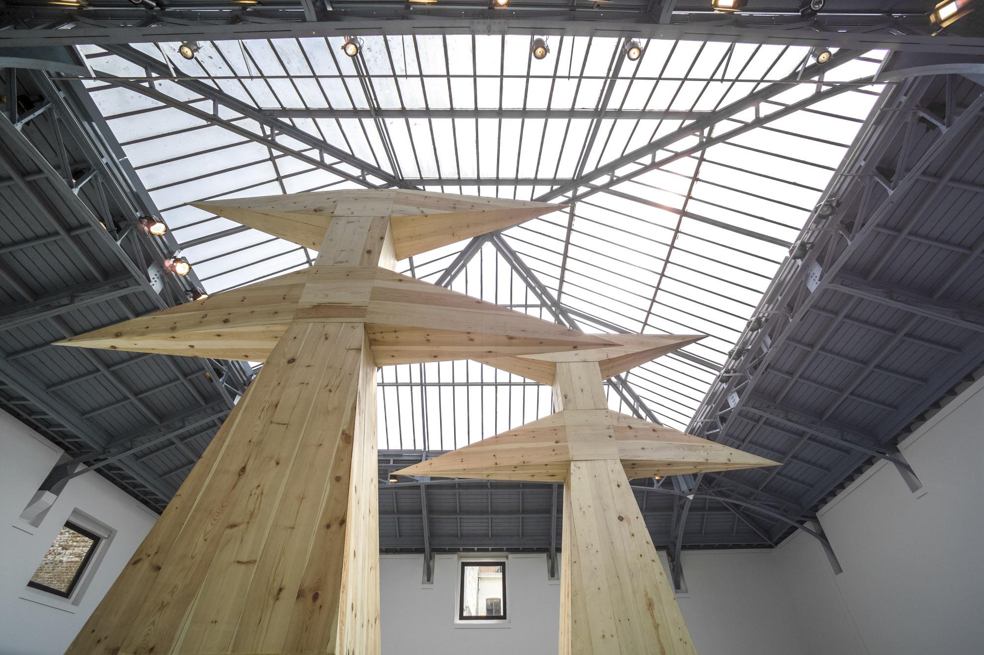 Exposition Assan Smati, La Verrière, Fondation d'entreprise Hermès, 2008